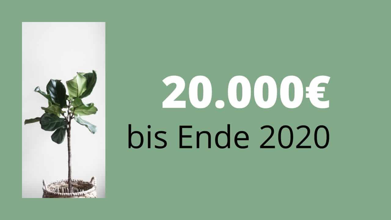 20.000€ bis Ende 2020