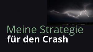 -25% / Meine Strategie für den Crash