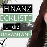 Finanz-Checkliste für die Zeit zu Hause
