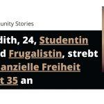 Judith, 24, Studentin und Frugalistin strebt finanzielle Freiheit mit 35 an