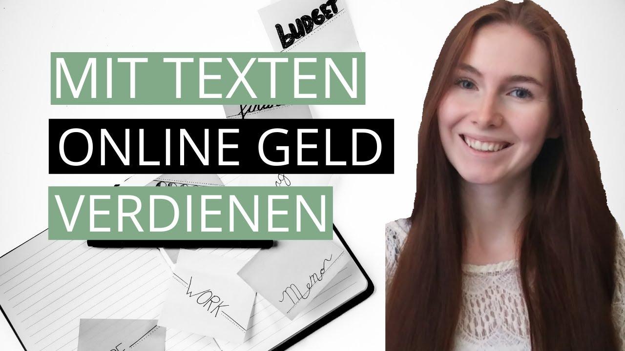 Mit Texten online Geld verdienen – Meine Erfahrung