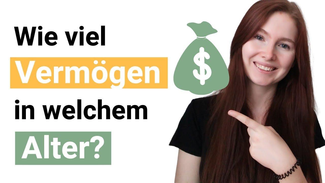 Wie viel Geld du mit welchem Alter angespart haben solltest